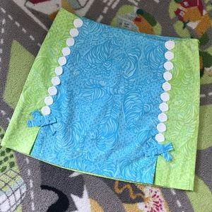 Lilly Pulitzer Jubilee Cotton mini skirt